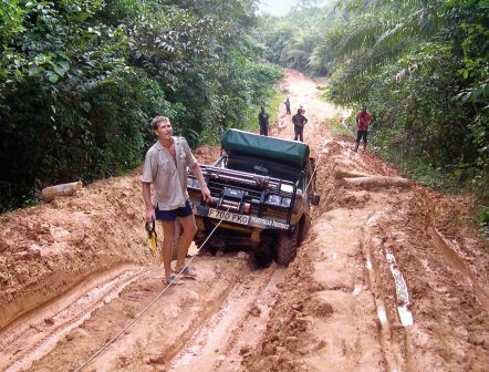 Roads in a Country Where Cameroon are said to be satisfied