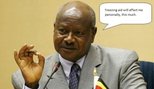 museveni does not need aid