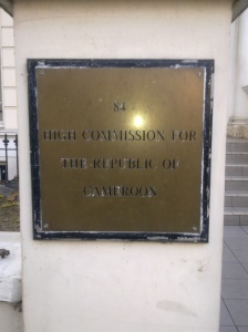 High Commission Sign