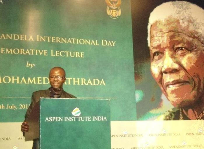At Aspen Institute India