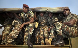 Cameroon Soldiers